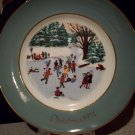1975 Avon Christmas Plate Fourth Edition