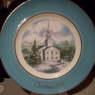 1974 Avon Christmas Plate Second Edition