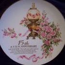 15th Avon Anniversary Plate