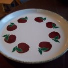 Stoneware Apple Platter