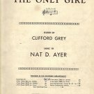 Vintage Sheet Music If You Were The Only Girl