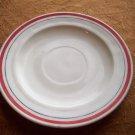 Vintage Restaurant China Saucer