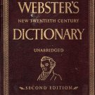 Webster&#39;s New Twentieth Century Dictionary