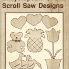 Encyclopedia of 312 Scroll Saw Designs by John LaForge
