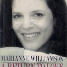 A Return to Love by Marianne Williams