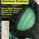 Fantasy and Science Fiction Magazine April 1979