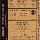 Huron City Directory 1985