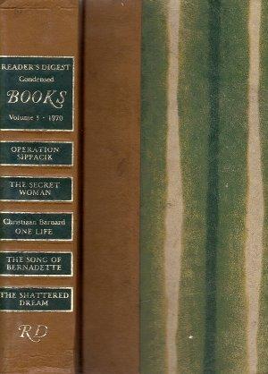 Reader's Digest Condensed Books Vol 3 1970