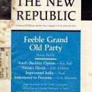 The New Republic Magazine August 7 & 14, 1976