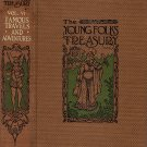 The Young Folks Treasury Vol. VI Famous Travels And Adventures