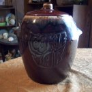 Vintage Stoneware Cookie Jar