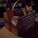 Handled Wooden Box