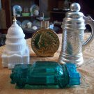 Lot of Four Vintage Avon Bottles (All are Full)