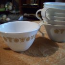Lot of Seven Matching Corelle Cups