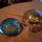 Two Vintage Paper Weights