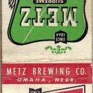 Metz Beer Matchbook Cover