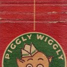 Piggly Wiggly Matchbook Cover