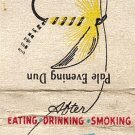 Tums Matchbook Cover