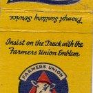 Farmer's Union Livestock Association  Windom, Minnesota Matchbook Cover