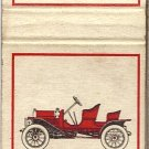 Buick 1908 and Hudson 1909 Matchbook Cover