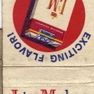 L&M Matchbook cover