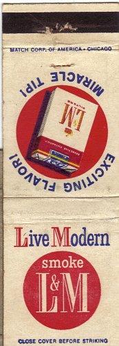 L&M Matchbook cover