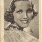 Vintage Golden Grain Tobacco Card  Adrienne Ames