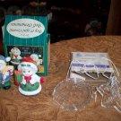 Ceramic Bells and Glass Hangable Christmas Ornaments