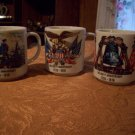 Three Bicentennial Cups