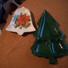 Two Christmas Trays