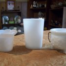 Lot of Three Pieces Of Milk Glass