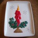Vintage Ceramic Candle Platter