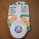 Vintage Porcelain Florida Spoon
