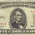 1963 Red Seal $5 Note