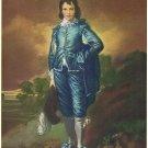 Blue Boy Lithograph by Sir Thomas Gainsborough