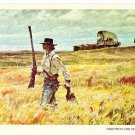 Something For Supper Postcard by Harvey Dunn
