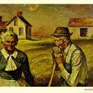 Old Settlers Postcard by Harvey Dunn