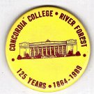 Concordia College 125 Years 1864-1989 Button