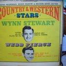 Country & Western Stars Wynn Stewart and Webb Pierce Record