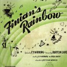 Vintage Sheet Music Finian's Rainbow How Are Things In Glocca Morra
