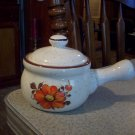 Vintage Pottery Bean Pot Made In Japan