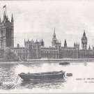 Ron Marsden Sketch of Houses of Parliament, London