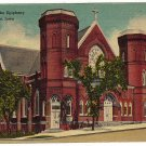 Vintage Postcard Cathedral of The Epiphany Sioux City, Iowa