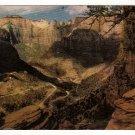 Vintage Postcard Zion Canyon, Utah