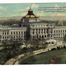 Vintage Postcard U.S. Congressional Library Washington D.C.
