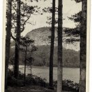 Vintage Real Photo Postcard Echo Lake North Conway NH