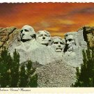 Vintage Postcard Mount Rushmore National Monument
