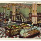 Vintage 1943 Postcard  The Big Curio Store:  Tijuana Mexico