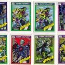Lot of 26 Marvel Comics Cards -Super Heroes, Super Villians and Famous Battles