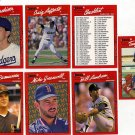 Lot of Seven Don Russ 90 Baseball Cards